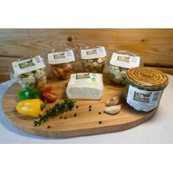 Sýrové kostky ochucené 120 g
